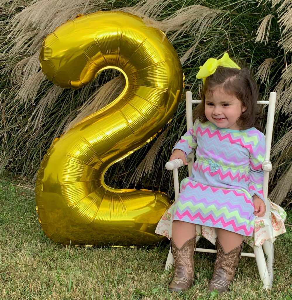 Esther is Two!